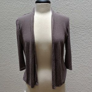 H&M three quarter sleeve grey cardigan Sz M
